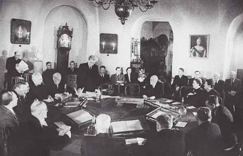 Открытие музея М.В.Ломоносова