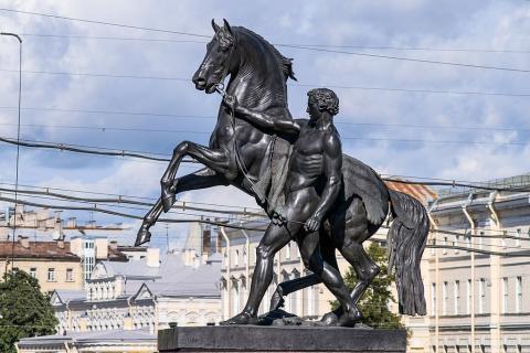 Аничков мост. Скульптуры