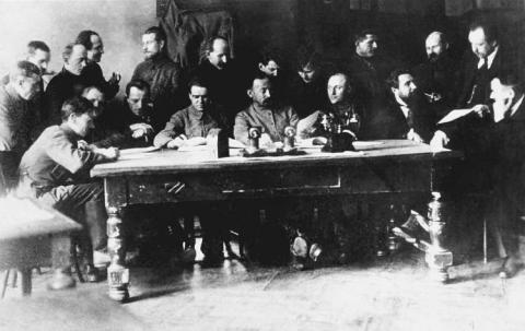 Заседание Коллегии ВЧК