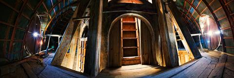 Внутри башни Адмиралтейства