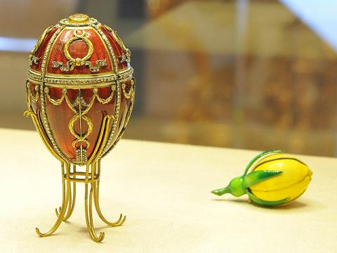 Императорское пасхальное яйцо «Бутон розы»