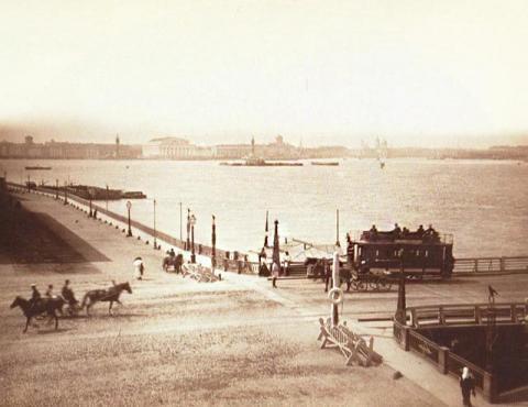 Наплавной Троицкий мост