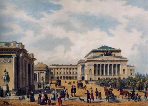 Театральная (Александринская) площадь