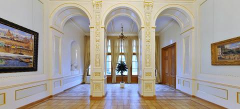 Верхняя буфетная музея Фаберже