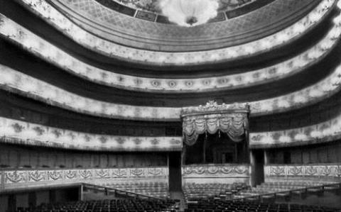 Здание Академического театра драмы имени Пушкина в Ленинграде