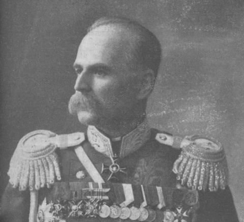 Выпускник Николаевской инженерной академии Л.К. Артамонов